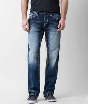 Rock Revival Lowry Straight Stretch Jean