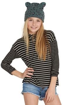 Billabong Girl's Main Show Stripe Hoodie