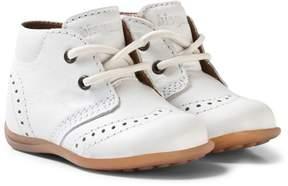 Bisgaard White Prewalker Shoes