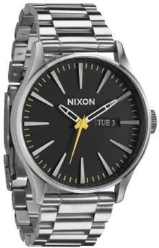 Nixon The Sentry SS A356-1227 Silver/Black Analog Quartz Men's Watch