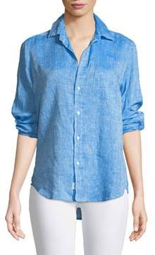 Frank And Eileen Eileen Button-Down Long-Sleeve Linen Shirt