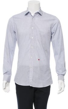 Moschino Striped Button-Up Shirt w/ Tags