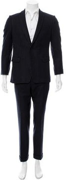 Dries Van Noten Striped Wool Two-Piece Suit