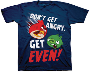 Freeze Navy Angry Birds Tee - Boys