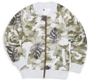 Petit Lem Little Boy's Printed Cotton Jacket