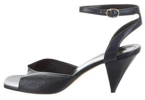 Celine Bicolor Twist Sandals