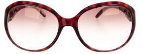 Jimmy Choo Julia Oval Sunglasses