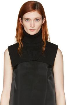 MM6 MAISON MARGIELA Black Turtleneck Collar