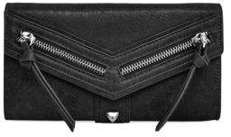 Botkier New York Textured Leather Checkbook Wallet