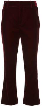Derek Lam 10 Crosby Cropped flared trousers