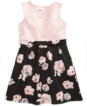 Epic Threads Floral-Print Sleeveless Dress, Toddler Girls (2T-5T), Created for Macy's