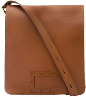 Delvaux Camel Leather Handbag