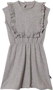 Nununu Heather Grey Apron Dress