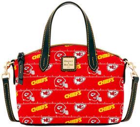 Dooney & Bourke Kansas City Chiefs Nylon Mini Crossbody Satchel - RED - STYLE