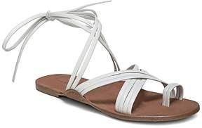 Via Spiga Women's Allegra Leather Ankle Tie Sandals