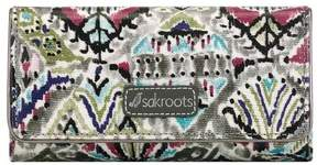 Sakroots Women's Artist Circle Snap Trifold Wallet