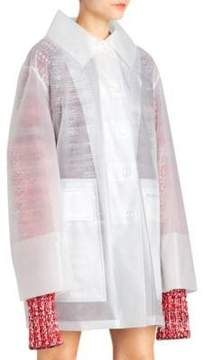 Burberry Translucent Oversized Car Coat