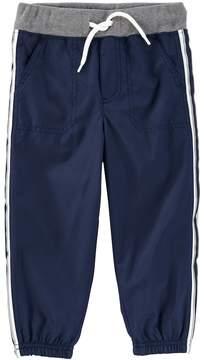 Osh Kosh Toddler Boy Striped Navy Active Pants