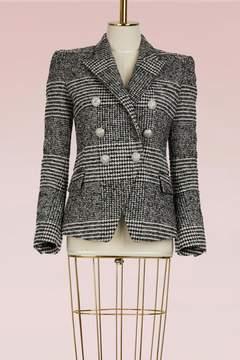 Balmain Wool blazer jacket with 6 buttons