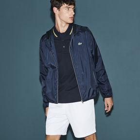 Lacoste Men's Sport Tennis Water-resistant Hooded Jacket