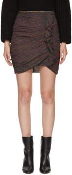 Etoile Isabel Marant Green Jipson Miniskirt