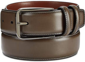 Perry Ellis Portfolio Men's Old English Leather Belt