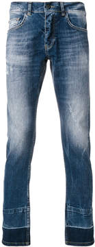 Frankie Morello slim-fit distressed jeans