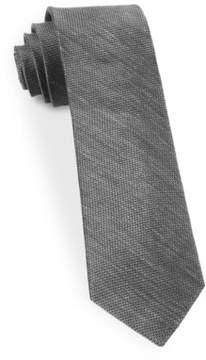 The Tie Bar Textured Silk Blend Tie