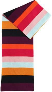 Sonia Rykiel Doubled Wool Blend Knit Scarf