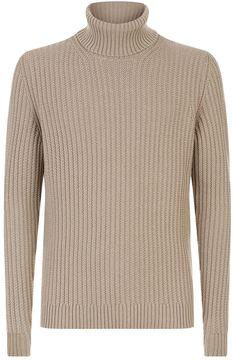 Pal Zileri Chunky Roll Neck Sweater