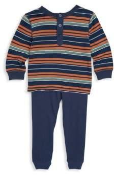 Splendid Baby Boy's Two-Piece Stripe Jersey Sweater & Knitted Pants Set