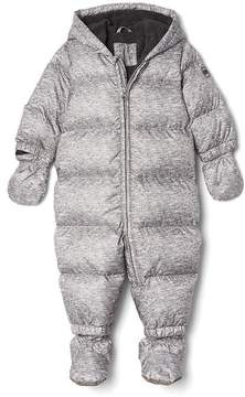 Gap Down heather puffer snowsuit