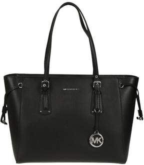 Michael Kors Voyager Tote - NERO/ARGENTO - STYLE