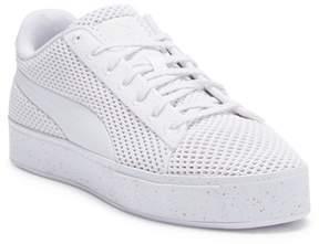 Puma X DP Court Platform Knit Sneaker