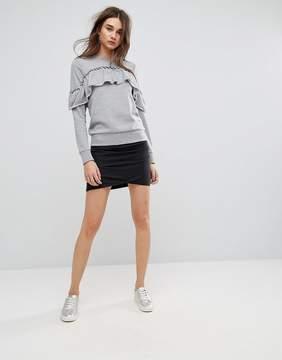 Noisy May Kathinka Drapey Mini Skirt