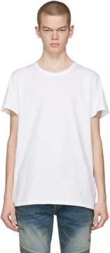 Balmain Three-Pack Tricolor Distressed T-Shirt