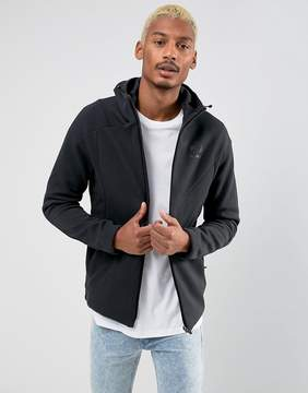 Reebok Zip Through Hoodie In Black BQ5442