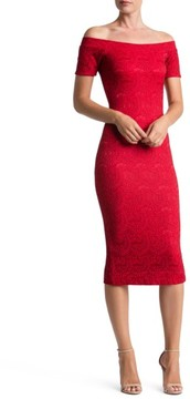 Dress the Population Women's Jemma Off The Shoulder Dress