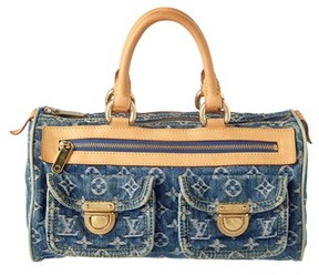Louis Vuitton Blue Monogram Denim Neo Speedy. - BLUE MULTI - STYLE
