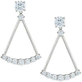 FANTASIA Crystal Open Drop Earrings