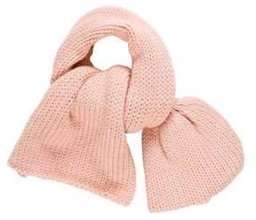 Dries Van Noten Rib knit Gathered Scarf