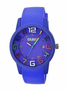 Crayo Festival Purple Dial Purple Silicone Unisex Watch