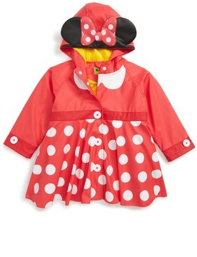 Western Chief Toddler Girl's Minnie Mouse(TM) Raincoat