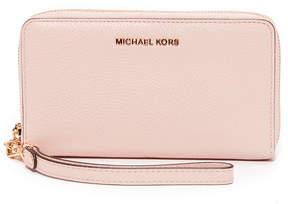 MICHAEL Michael Kors Large Flat Phone Wristlet - SOFT PINK - STYLE