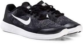 Nike Black Free Run 2 Junior Trainers