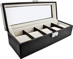 JBW Men's 5-Piece Watch Storage Box
