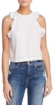 Bella Dahl Ruffled Cropped Tank