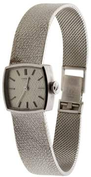 Longines 18K White Gold Mechanical Watch