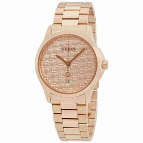 Gucci G-Timeless Men's Rose Gold-tone Watch YA126482