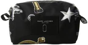 Marc Jacobs Tossed Charms Printed Knot Large Cosmetic Cosmetic Case